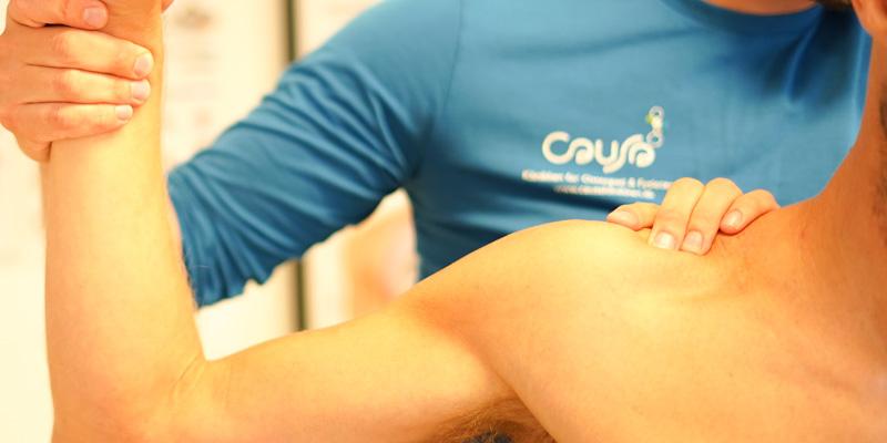 Osteopat i København, Behandling af arm